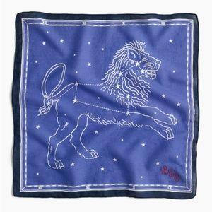 J. Crew Bandana in Leo Constellation